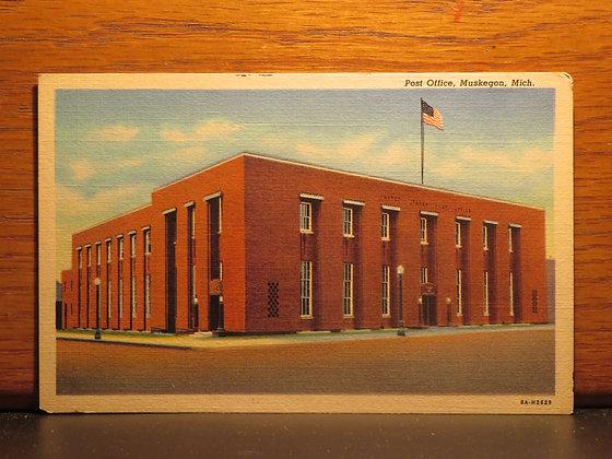 Post Office, Muskegon, Michigan