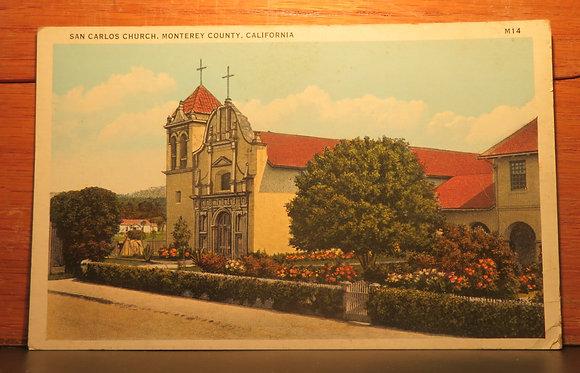 San Carlos Church, Monterey County, California