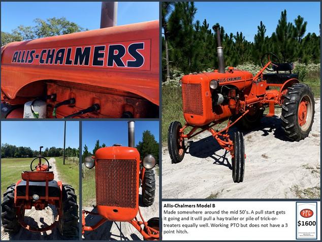 Allis-Chalmers Model B $1600