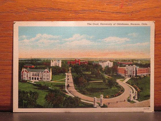 The Oval, University of Oklahoma, Norman, Oklahoma