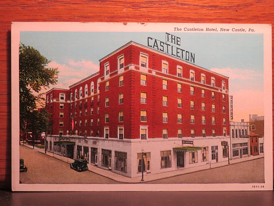 The Castleton Hotel, New Castle, Pennsylvania