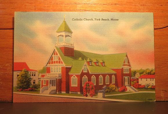 Catholic Church.York Beach, Maine