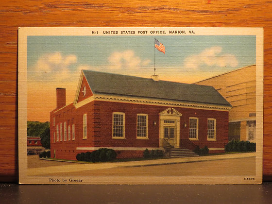United States Post Office, Marion, Virginia