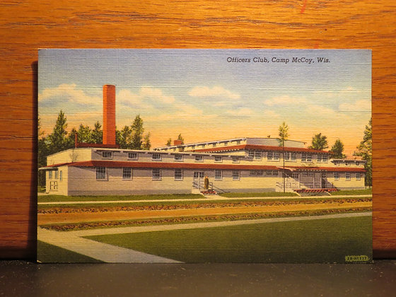 Officers Club, Camp McCoy, Wisconsin