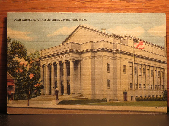 First Church of Christ Scientist, Springfield, Massachusetts