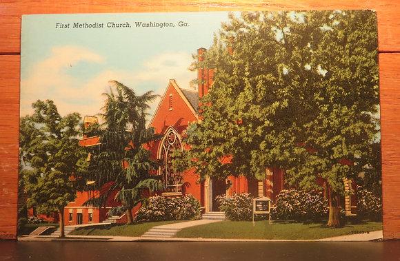 First Methodist Church,  Washington, Ga.