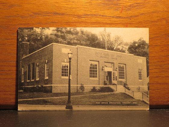 Post Office, Springfield, Vermont