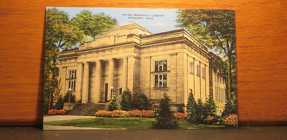 Hayes Memorial Library, Fremont, Ohio