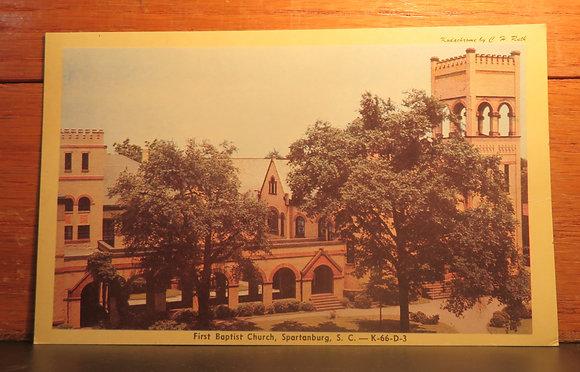 First Baptist Church, Spartanburg, S. C.