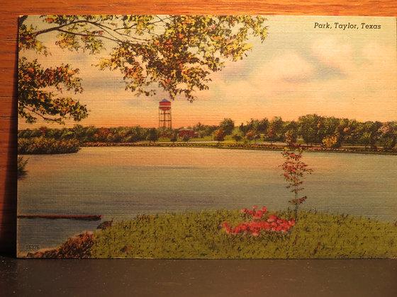 Park, Taylor, Texas
