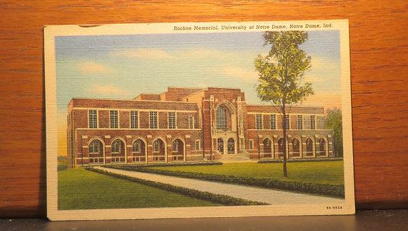 Rockne Memorial, University of Notre Dame, Notre Dame, Indiana