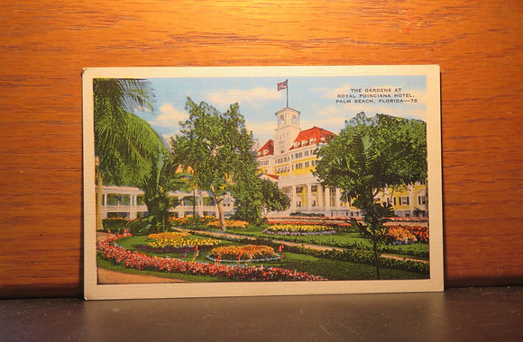 The Gardens At Royal Poinciana Hotel, Palm Beach, Florida