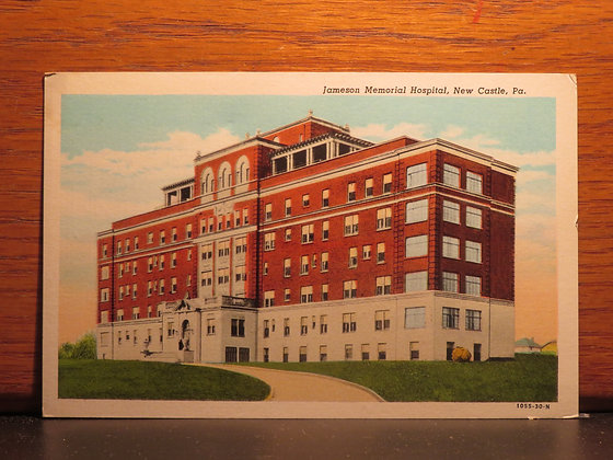 James Memorial Hospital,  New Castle, Pennsylvania