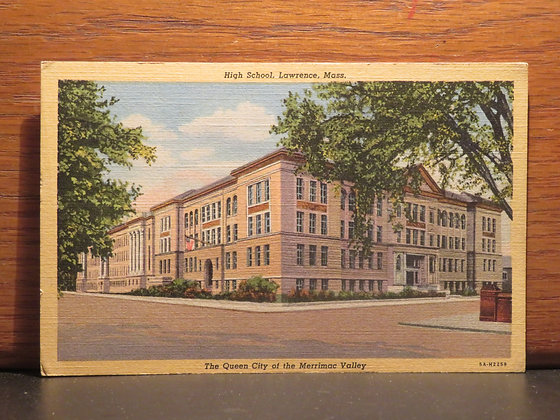 High School, Lawrence, Massachusetts