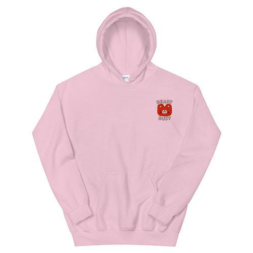 beary busy hoodie