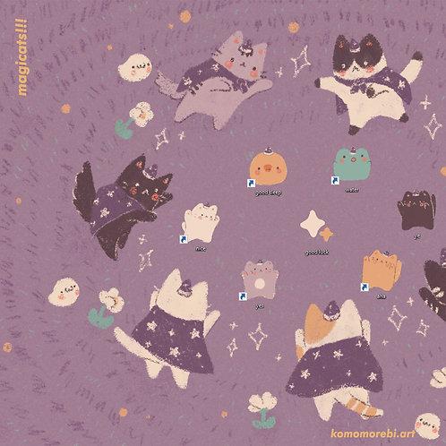 magicats!!! - wallpaper+icon set