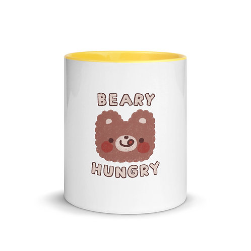 beary hungry mug