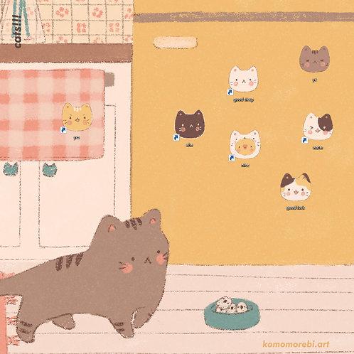 cats!!! - wallpaper+icon set