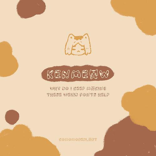KENMEAW - a font