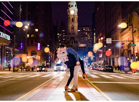 Grace & Matt | Philadelphia Sweetheart Session | Pennsylvania Couples Photographer
