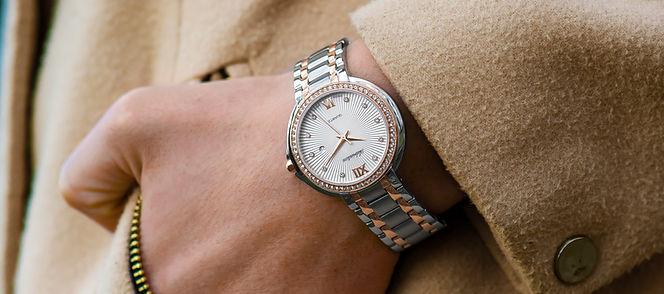 Luxury Silver Watch