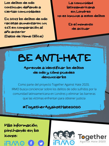 IRMO: Be Anti-Hate- Guide for Latin Americans (Español)