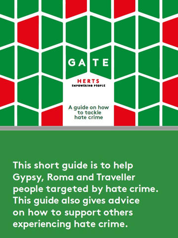 Gate Herts: A Hate Crime Guide for Gypsy, Roma and Traveller People