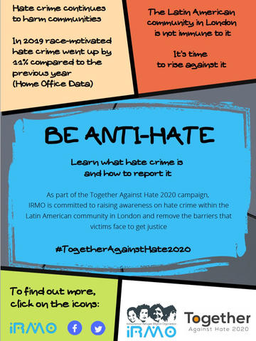 IRMO: Be Anti-Hate- Guide for Latin Americans (English)