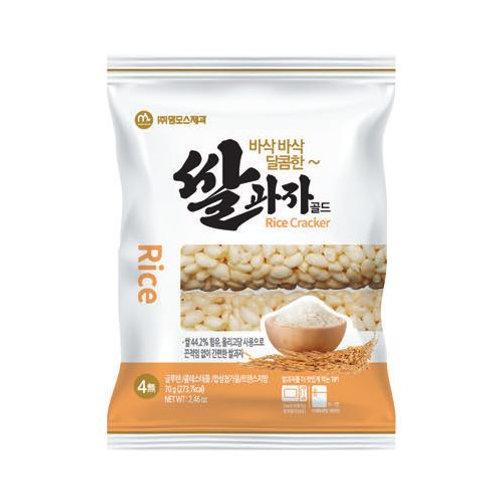 맘모스 쌀과자 골드 70g, Gluten Free, Snack de Arroz