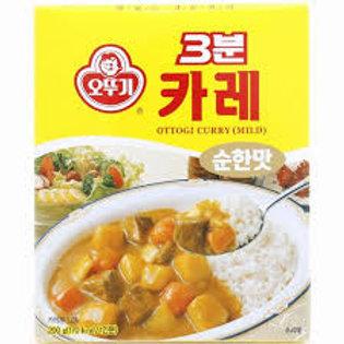 오뚜기 3분카레(순한맛) 200G, 3minutes Curry(suave)