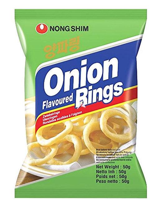 농심 양파링 50g, Nonshim Onion Rings