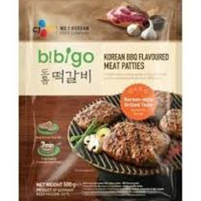 CJ 비비고 도톰 떡갈비 500G  churrasco coreano BBQ 500g