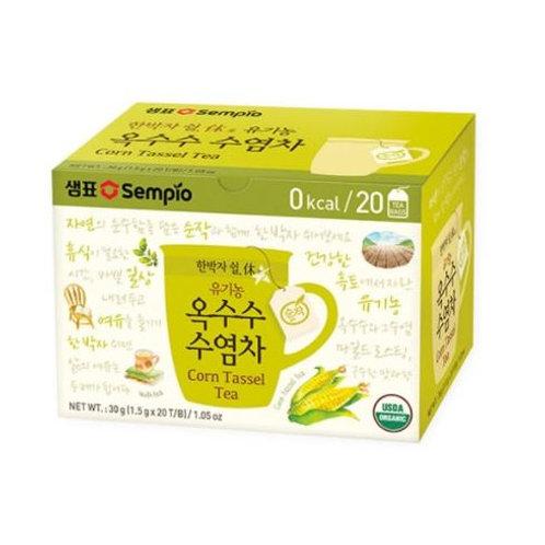 샘표 유기농 옥수수 수염차 티백 30g(20P), bio chá bigodes de milho