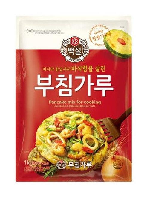 백설 부침가루 500g, Pó de panqueca  Coreana  500g