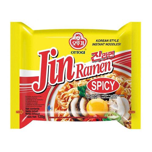 오뚜기 진라면 매운맛  120G, JIN ramen picante 120g