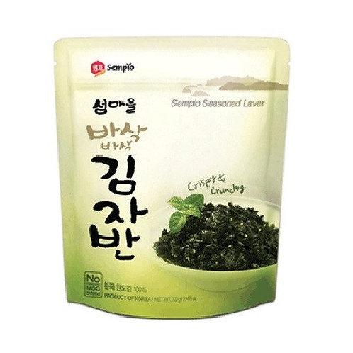 샘표 섬마을 김자반 오리지날 50g, GUIMJABAN alga marinha crocante 50g