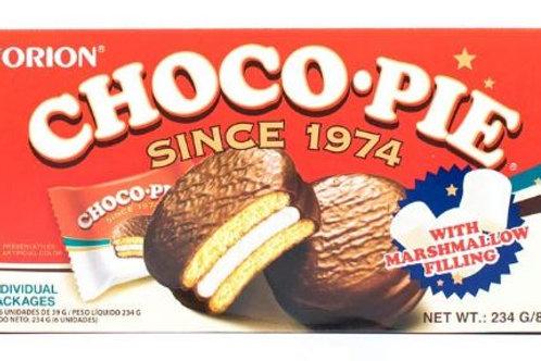 오리온 초코파이 234G(6pcs), CHOCOPIE torta de chocolate