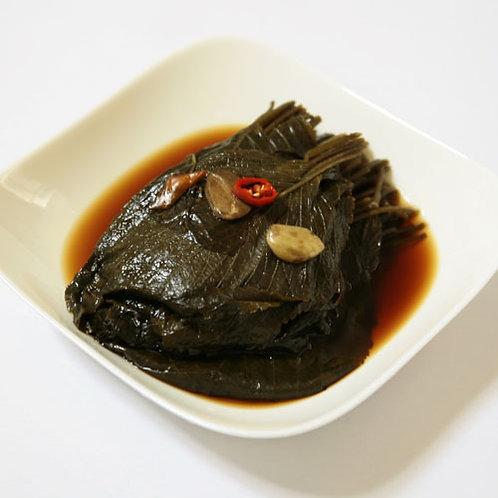 한성 간장깻잎1kg, Folhas de perilla marinadas em molho de soja