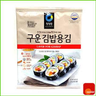 대상 구운 김밥용김 20G(10SHT) alga marinha assada p/kimbap 20g 10p
