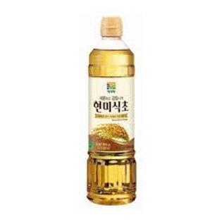 대상 청정원 현미식초 500ML, vinagre de arroz integral 500ml