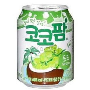 해태 코코팜 포도(캔) 238ML Bebida Coco Palm 238ml