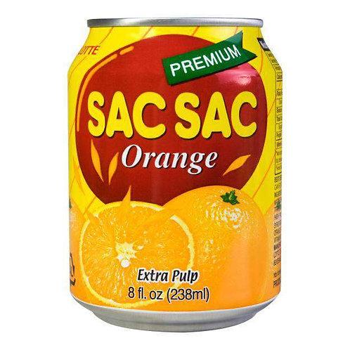 롯데 쌕쌕 오렌지 238ml, SAC SAC laranja 238ml