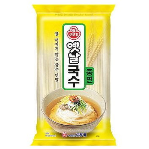 오뚜기 옛날국수 중면 900g, Macarrão de Trigo(medio) Estilo Coreano