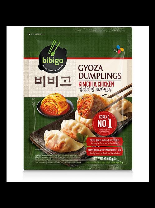 비비고 김치치킨 교자만두 600g, bibigo Mandu Kimchi e fango