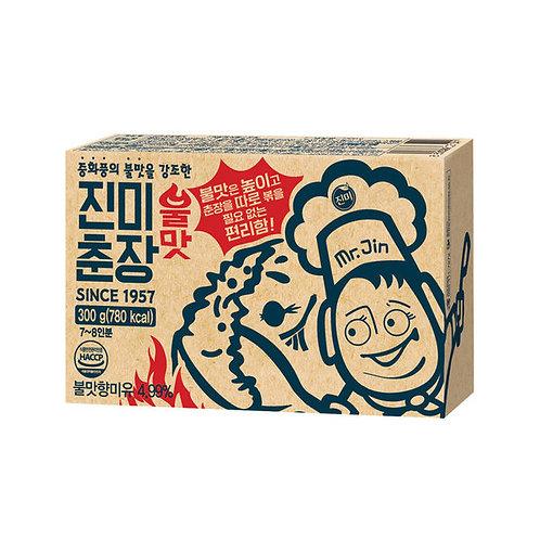진미 춘장 불맛 300g, 짜장, Pasta soja preto