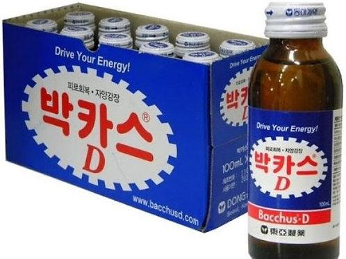 동아 박카스 D 10개입(1박스), Baccas-D Drink 10 garrafas por caixa