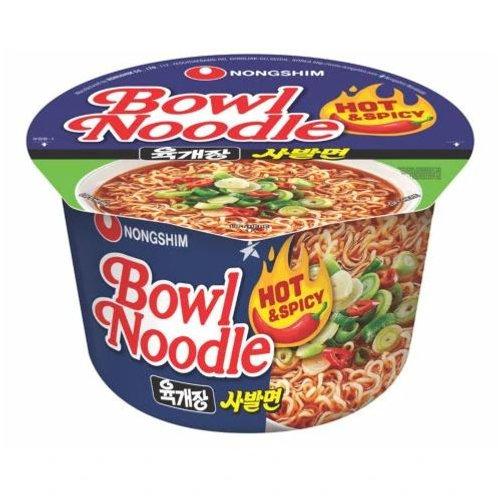 농심육개장사발면큰컵 100g, Yukgaejang Bowl Noodles Big Cup