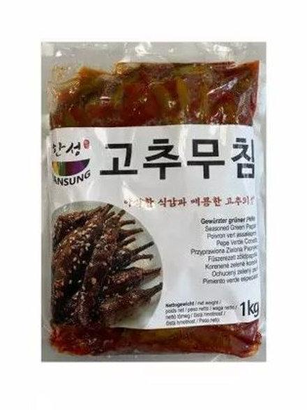 한성 고추무침 1kg, Malagueta temperada