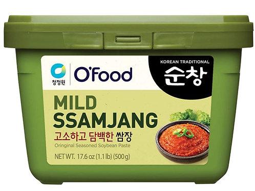 청정원 순창 고소하고 담백한 쌈장 500g, Mild Ssamjang