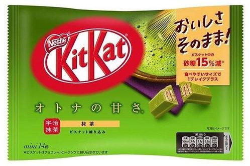 네슬레 키켓 말차맛 미니 133g, Nestle KitKat Matcha mini 133G